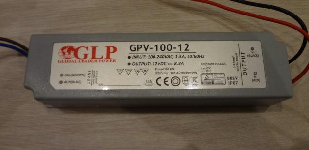 100W zdoj pro LED pásek