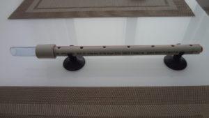Zkompletovaná rozstřikovací rampa