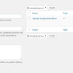 Vytvoření série článků ve wordpressu