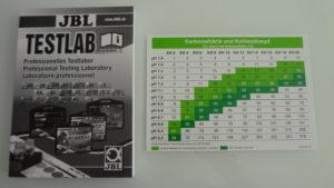 JBL ProScape manuál + tabulka