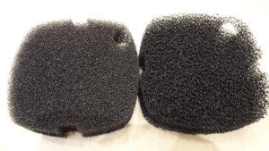 Tetra EX1200 neoriginální vs originální biomolitan
